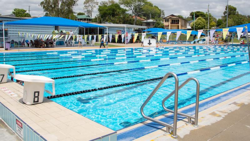 How safe is it to use public swimming pools?